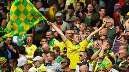 Norwich City fans have been urged not to post pictures of their Wembley tickets on social media. Pic