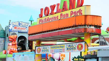 Joyland fun park on Marine Parade in Great Yarmouth.Picture: James Bass
