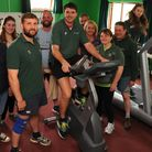 Harleston Young Farmers row, cycle and run thousands of miles to raise money for Cancer Research fro