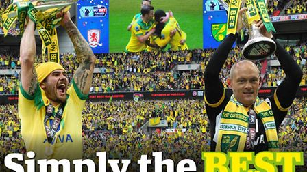 Re-live Norwich City's play-off final triumph with our 56-page PinkUn special