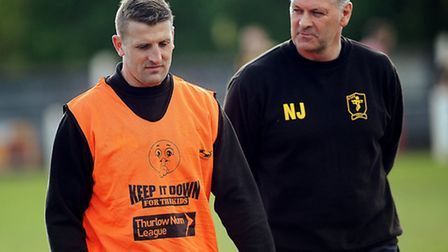 Neil Jarvis, right, was the former assistant of Wayne Anderson, left. Picture: MATTHEW USHER