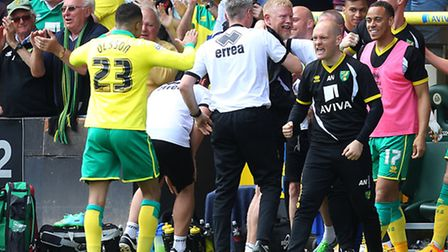 Norwich manager Alex Neil will lead out his club for a first trip to the new Wembley against Middles