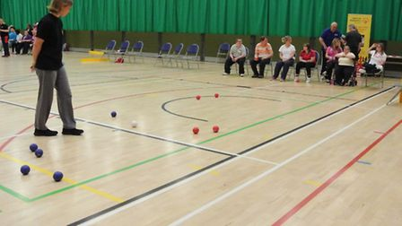 Active Norfolk's Adult Disability Games 2015. Photo: Active Norfolk