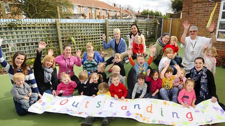 Earlham Early Years Centre was judged 'outstanding' earlier this year. Picture: ANTONY KELLY