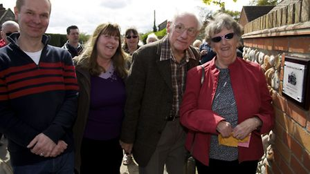 Former pupils and teachers of the Eden Hall School in Bacton which helped sick children rest and rec