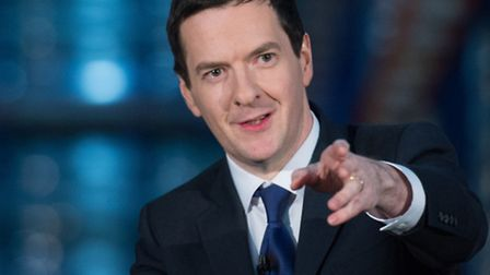 Chancellor of the Exchequer George Osborne who is expected to declare today that it s time for major