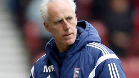 Ipswich Town manager Mick McCarthy. Picture: Richard Sellers/PA Wire