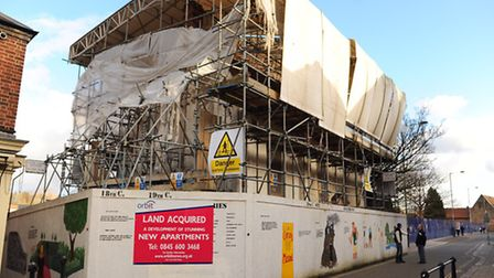 Howard House, King Street, which is part of the development of new apartments. Picture: DENISE BRADL