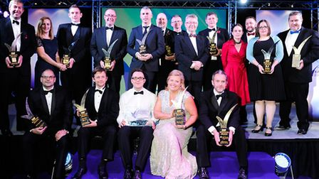 EDP Business Awards 2014 at the Norfolk Showground Arena, Costessey. All the award winners.
