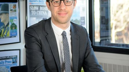 Archant business writer Ben Woods - byline photo.Picture: ANTONY KELLY
