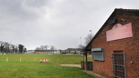 The Cabbell Park football club, which is earmarked for the doctors surgery. Picture: ANTONY KELLY