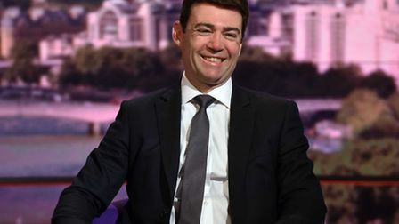 Andy Burnham appearing on BBC One's The Andrew Marr Show. Photo: Jeff Overs/BBC/PA Wire