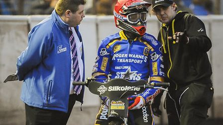 There will be no speedway at the Adrian Flux Arena this evening. Picture: MATTHEW USHER