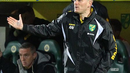 Norwich manager Alex Neil has challenged his players to carve their niche in the club's history. Pic