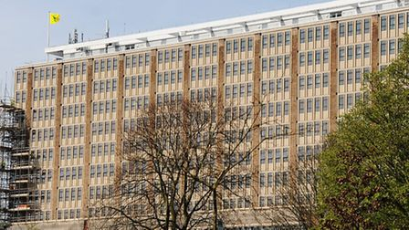 Norfolk County Council's headquarters at Martineau Lane. Picture: DENISE BRADLEY
