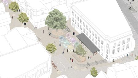 HAT Projects plans for St Nicholas Square in Colchester