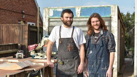 Charlie Jack, 29, a carpenter and joiner, and his brother, Harry Wright, 35, have started working to
