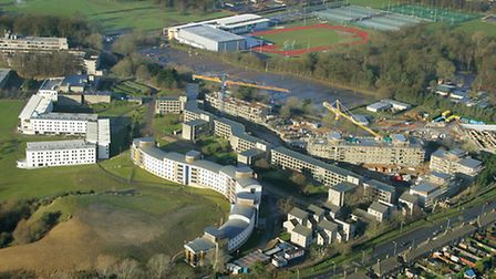The UEA campus. Photo: Mike Page