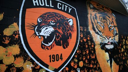 A general view of Hull City graffiti during the FA Cup fourth round match at the KCOM Stadium, Hull.