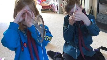 Cambs scouts get creative Covid