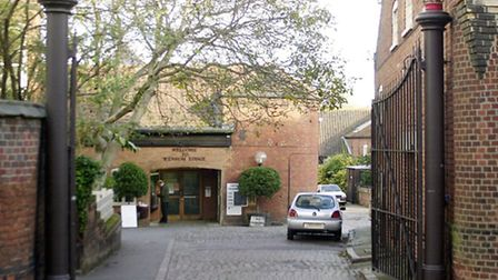 Wensum Lodge in Norwich, where the adult education service is based.