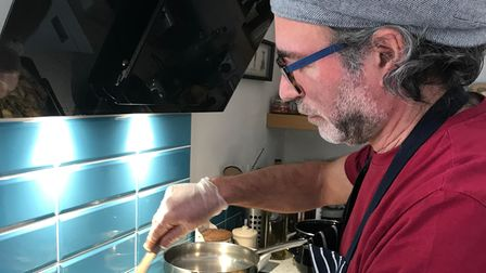 Pasquale and Chrystelle Napolitano have been cooking meals for others in Sudbury during the third national coronavirus...