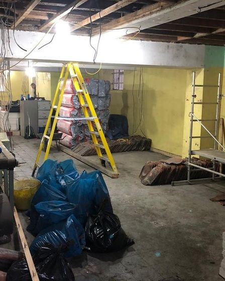 Sportstore have started renovating the former Bartram's store.