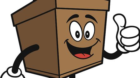 Ballot Box with Thumbs Up