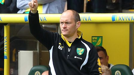 Norwich manager Alex Neil is looking forward to pitting his wits against Ipswich. Picture by Paul Ch
