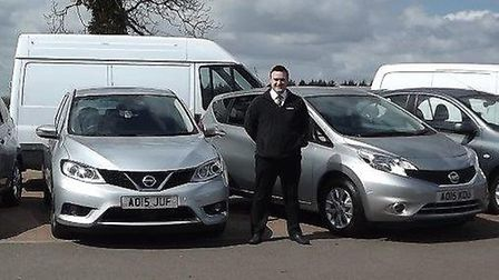 Crayford and Abbs has joined the Practical Car Hire and Van Rental franchise at its Bodham and Munde