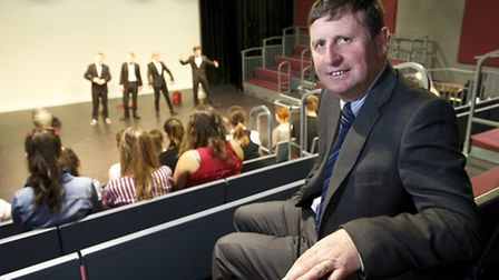 Paston Sixth Form College has spent £1.5M revamping it's theatre and art based courses building pict