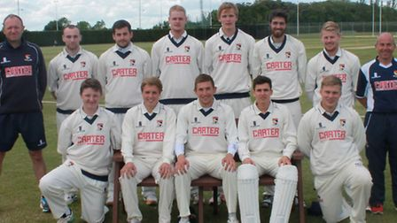 Norfolk Lions ahead of their East of England Development competition match at Huntingdonshire in May