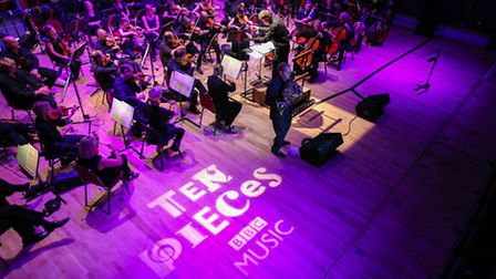 BBC Concert Orchestra performing at the Corn Exchange in King's Lynn