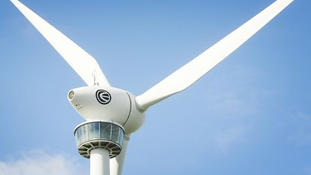 A plan for single wind turbine in Hempstead has attracted opposition.