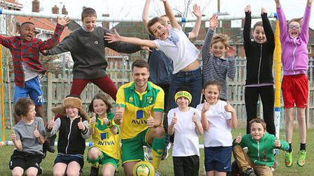 Norwich City player Russell Martin has appeared in an anti-bullying film by the GR8 AS U R campaign