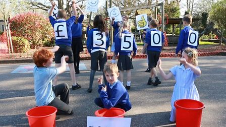 Brooke Primary School has turned to crowdfunding to raise money for a new play area equipment