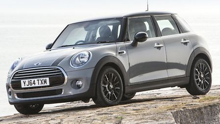 MINI Cooper five-door hatchback is a cheeky character to drive even with the six-speed automatic gea