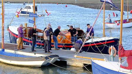 Lucy Lavers arrives home at Wells. Picture: Chris Bishop