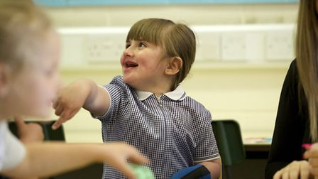 Angelina Mills has been undergoing hers of treatment for a rare brain disorder called Sturge Weber S
