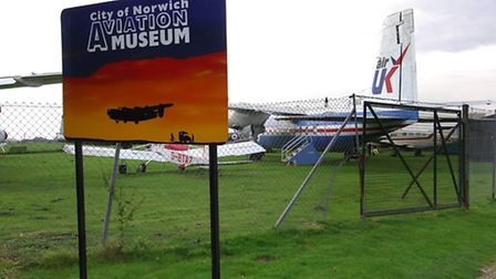 City of Norwich Aviation Museum which is under threat from the Northern Distributor Road.; Photo: Si