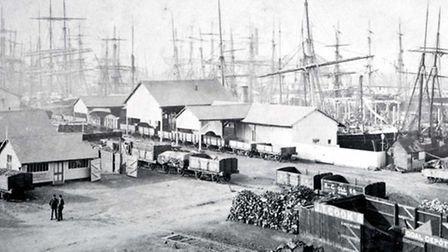 King's Lynn Alexandra Dock, date unknown. Picture: King's Lynn Borough Council archives