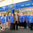 The Fent shop have been awarded a Royal Warrant. LtoR - Lucy James, Trudy Fenables, Pam Fisher, Chri