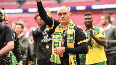 It's been a big case of thumbs up so far for Alex Neil at Carrow Road. Picture: MATTHEW USHER