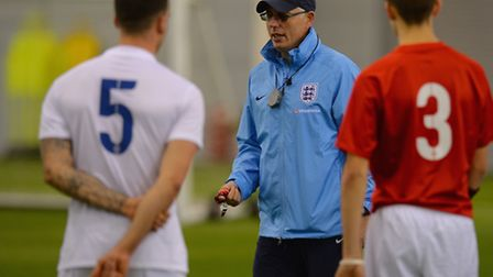 Keith Webb and his England CP players are in action today. Picture: FA/GETTY IMAGES