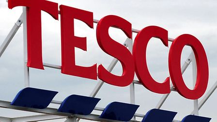 Tesco sign as a lively Tesco annual shareholder meeting is likely to reveal sales coming under furth