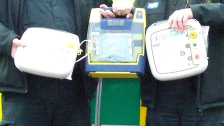 Defibrillators pump electrical energy to the heart.
