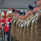 1st The Queen's Dragoon Guards (QDG) at the farewell parade in Dempsey Barracks, Paderborn and the