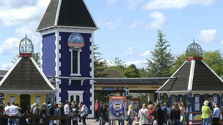 File photo dated 08/06/15 of Alton Towers in Staffordshire, as Alton Towers owner Merlin expects ann