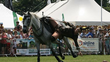 Stampede Stunt Company will be at Holkham Country Fair 2015