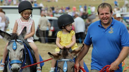 Children will be able to enjoy donkey rides at Holkham Country Fair